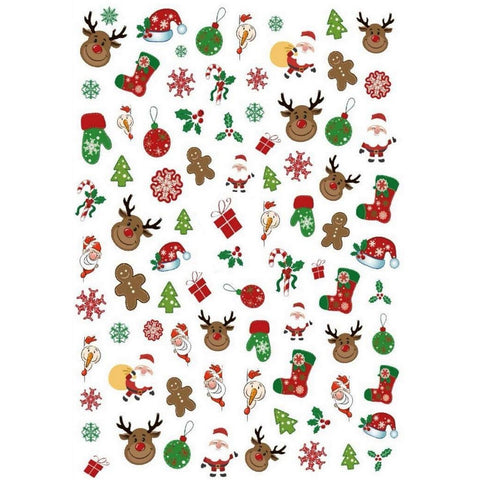 Christmas Jolly Mix Nail Stickers