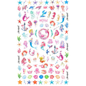 Mythical Mermaids #2 Nail Stickers