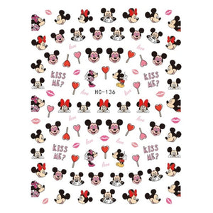 Cartoons MM Love #2 Nail Stickers