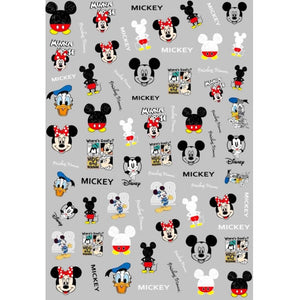 Cartoons MM Mix Nail Stickers