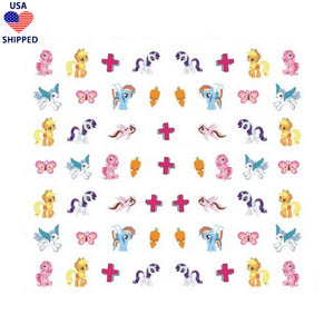 (USA) Nostalgic Pony #1 Nail Stickers