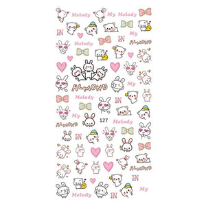 Kawaii Bunnies Nail Stickers