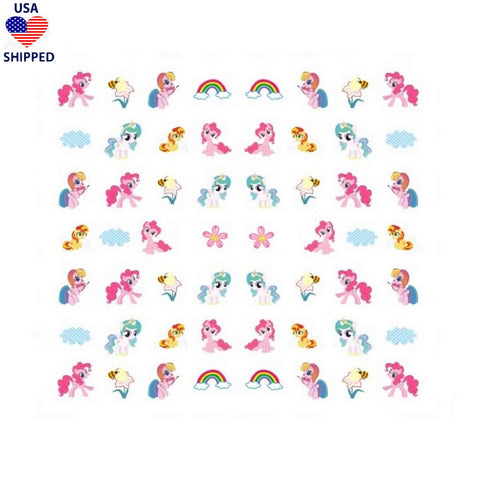 (USA) Nostalgic Pony #2 Nail Stickers