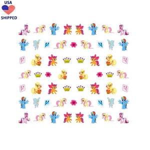 (USA) Nostalgic Pony #3 Nail Stickers