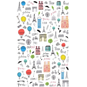 Travels France Nail Stickers