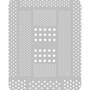 Pattern Polka Dots White Stickers