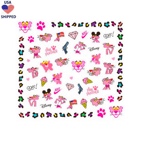 (USA) Nostalgic PP #2 Nail Stickers