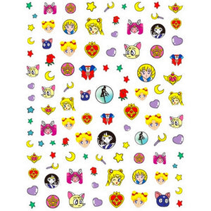 Anime S Moon #3 Nail Stickers