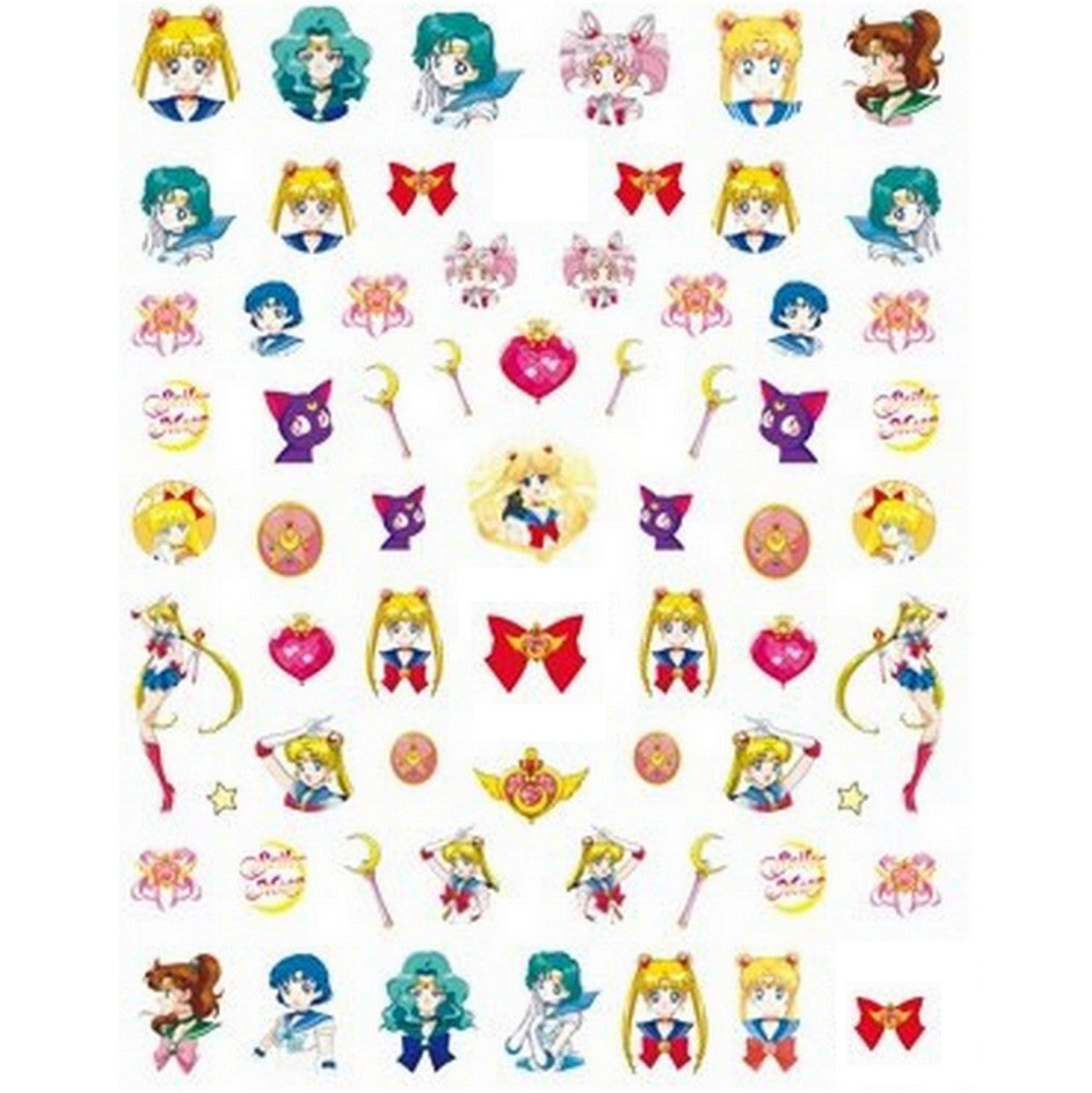 Anime S Moon #2 Nail Stickers