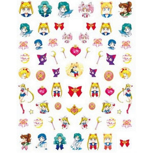 Anime SM #2 Nail Stickers