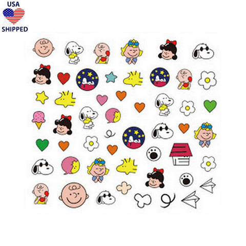 (USA) Cartoons CB Classic Nail Stickers