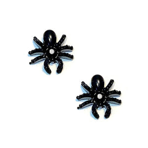 Spiders Charms Pair / Black