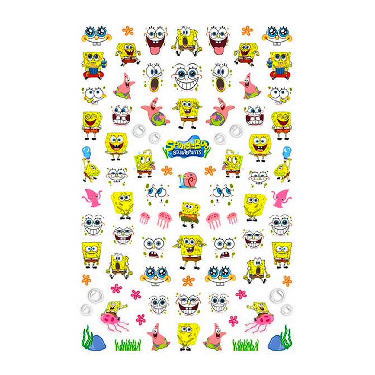 Cartoons SQ #2 Nail Stickers