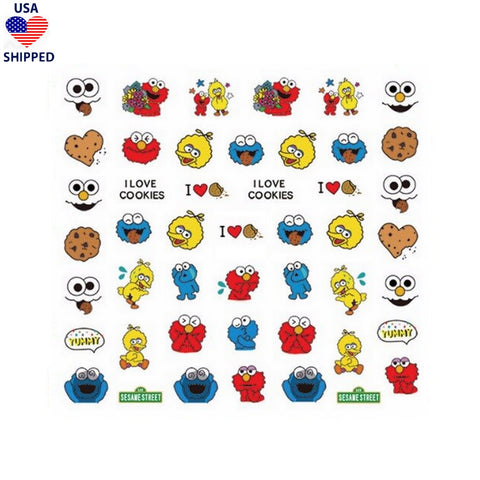 (USA) Nostalgic SS Nail Stickers