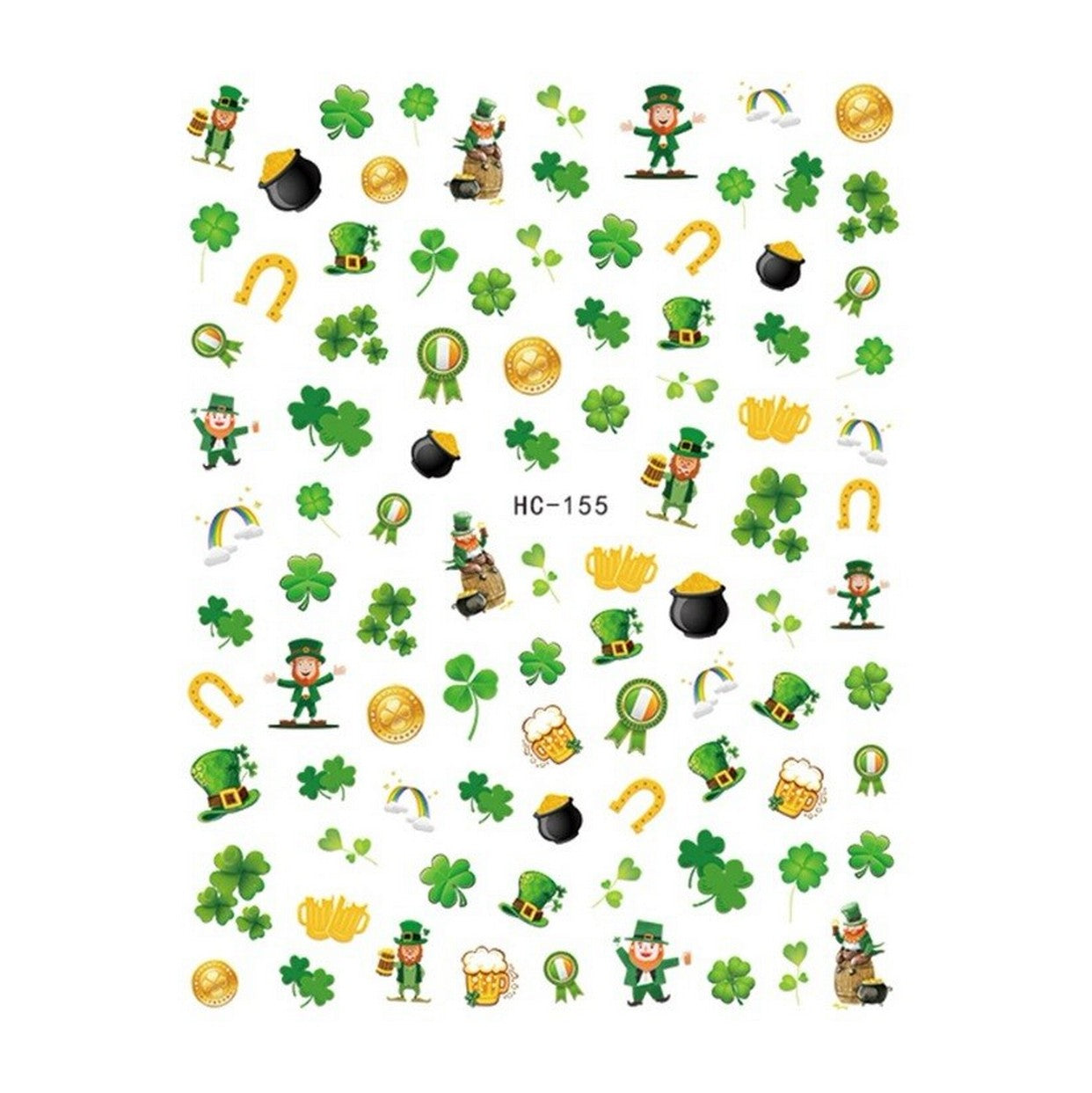 St. Patrick's Day Nail Stickers