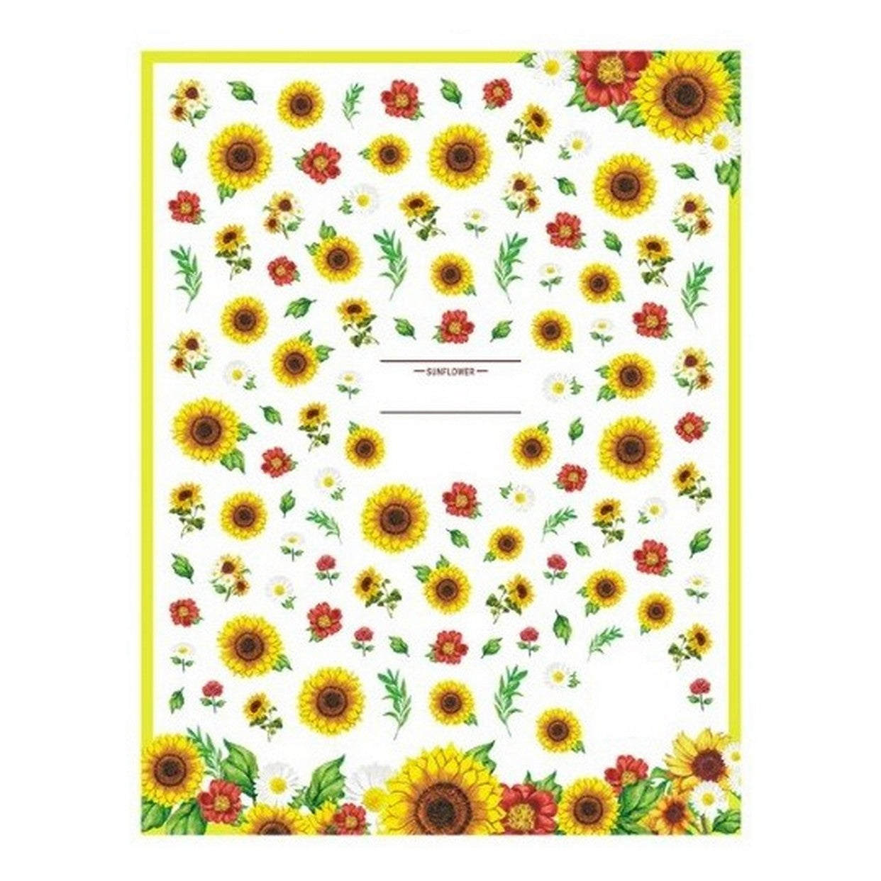 Flower Sunflowers Nail Stickers