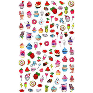 Drinks/Food Sweet Tooth Nail Stickers
