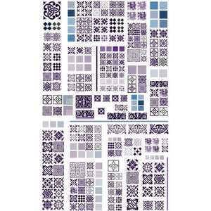 Patterns Tile Nail Stickers
