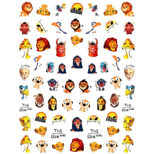 Cartoons TLK Nail Stickers