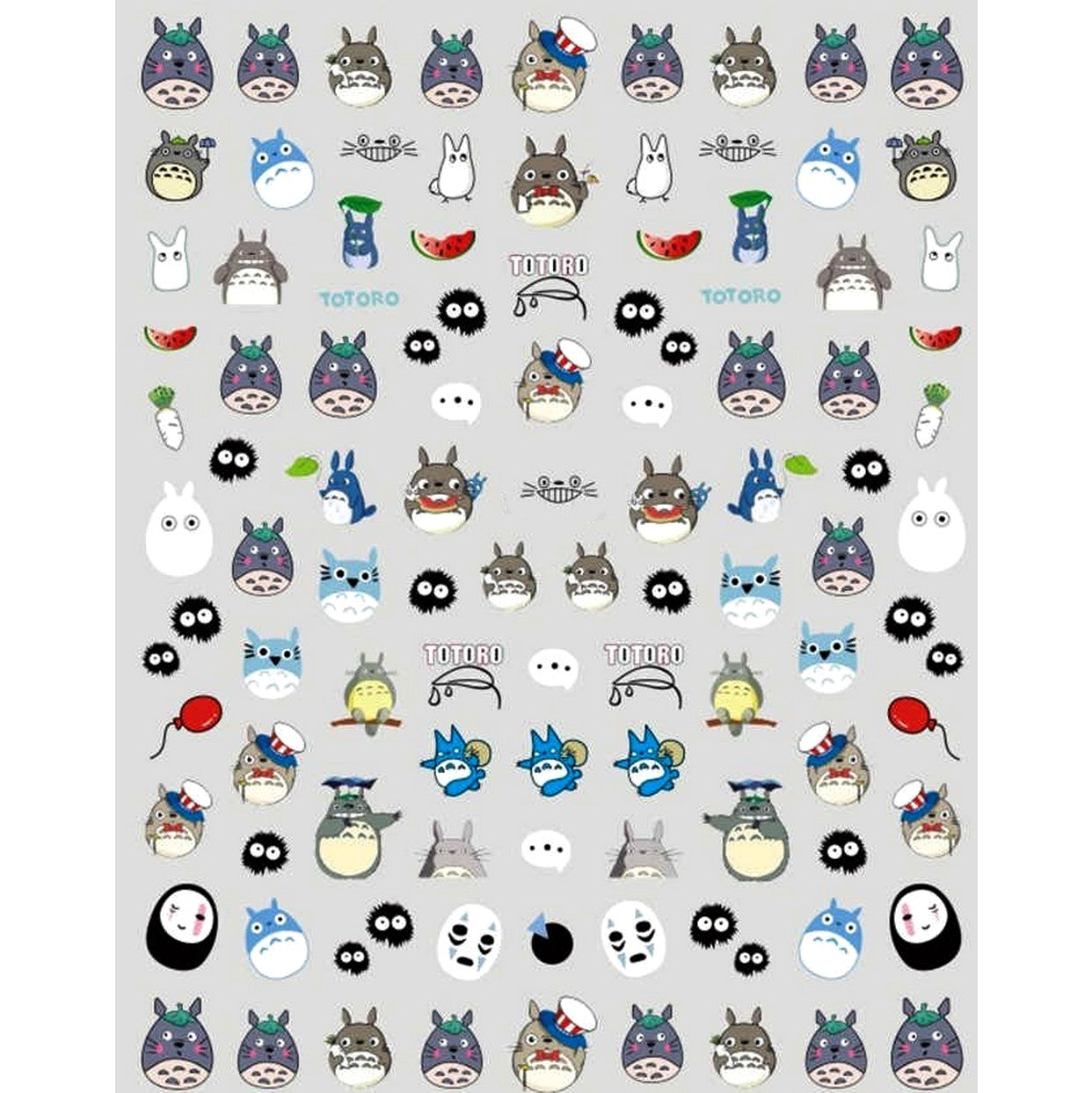 Anime Tot Nail Stickers
