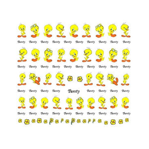 Cartoons Tweet #2 Nail Stickers