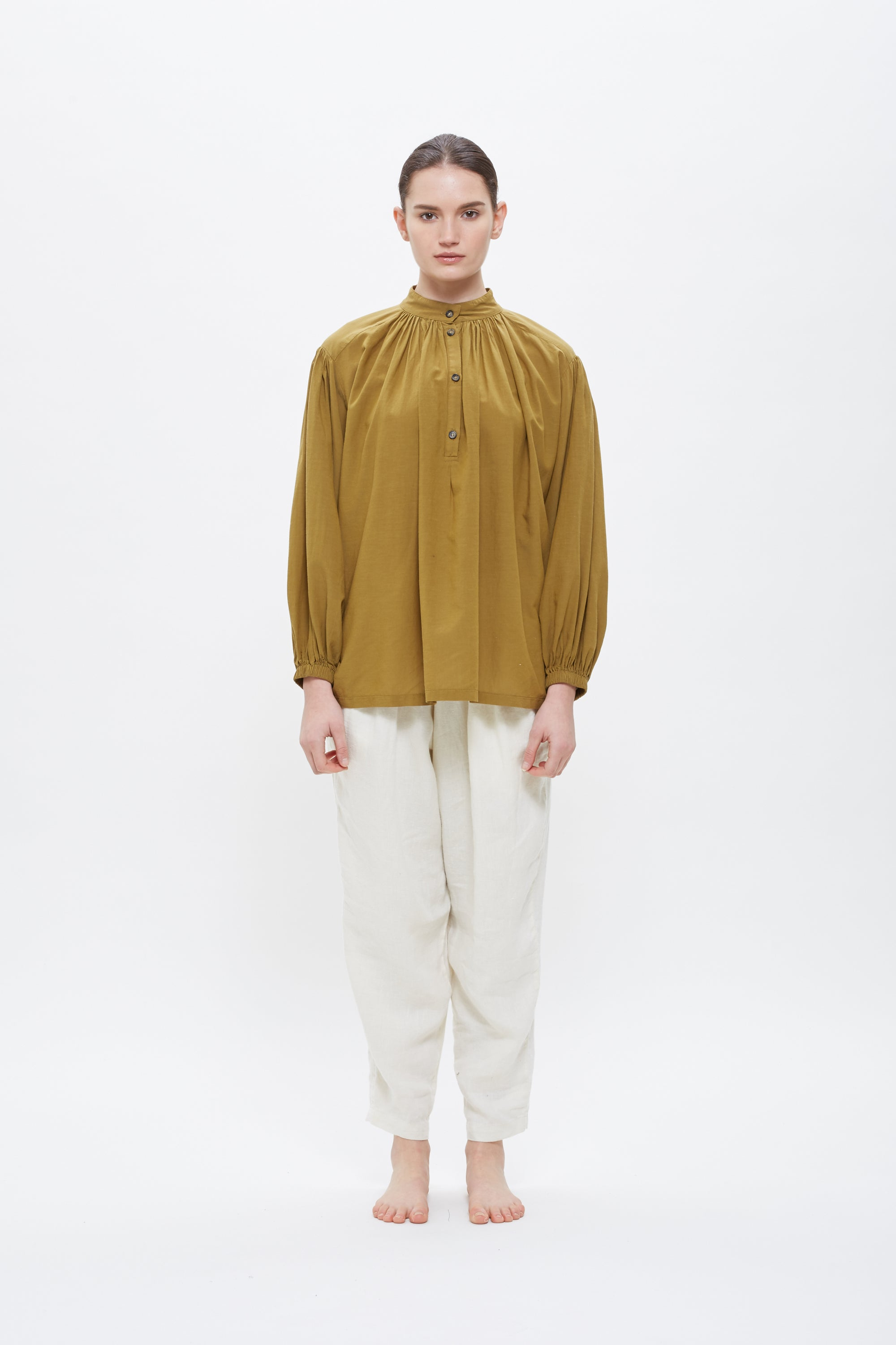 Balloon Sleeve Blouse / RC-BSS19