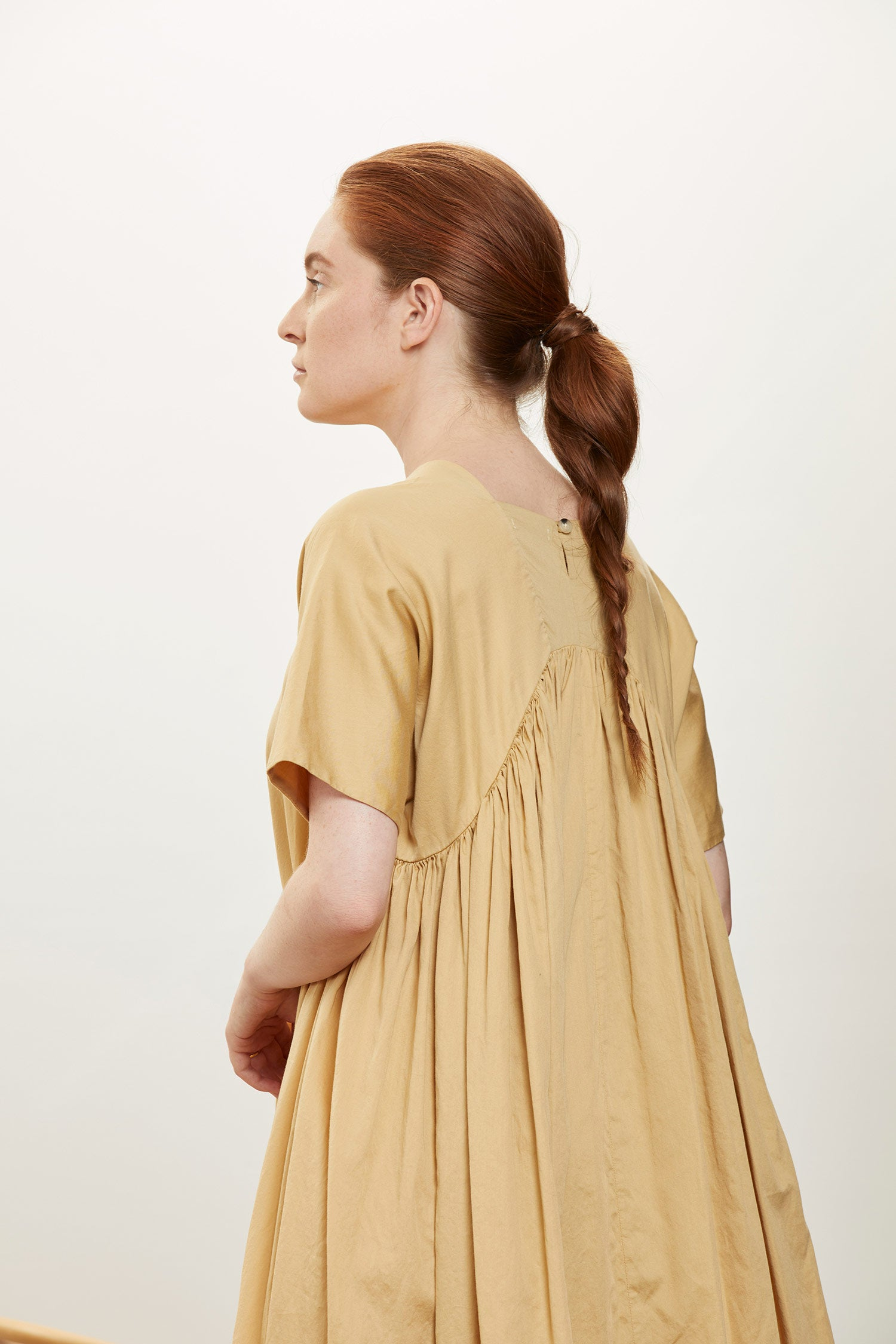 PETAL DRESS / CS-PTD27 / TAN