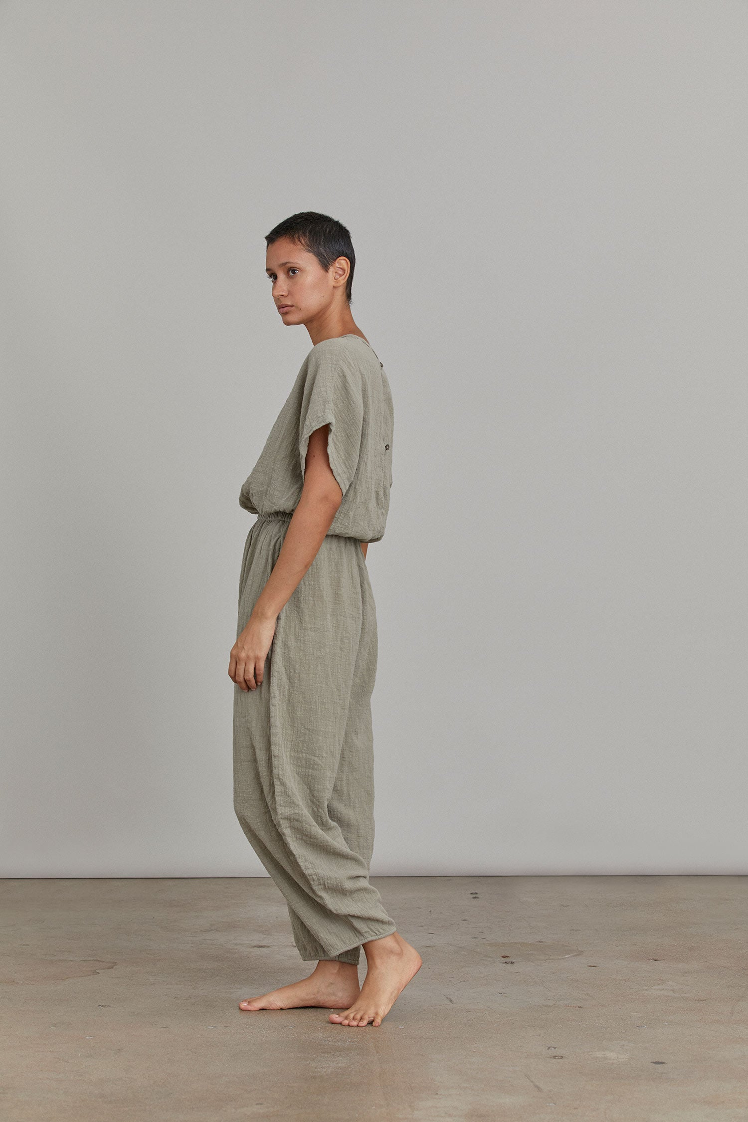 EASY JUMPSUITS / STONE