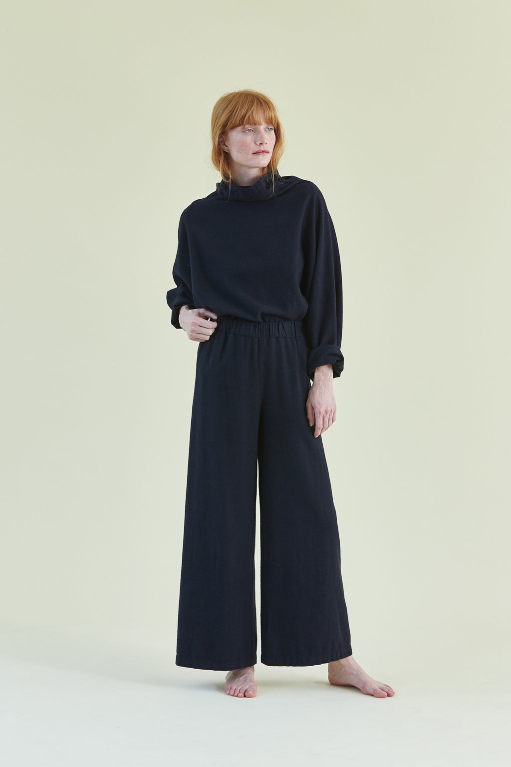 Wide Pants / CW-P11 / Navy