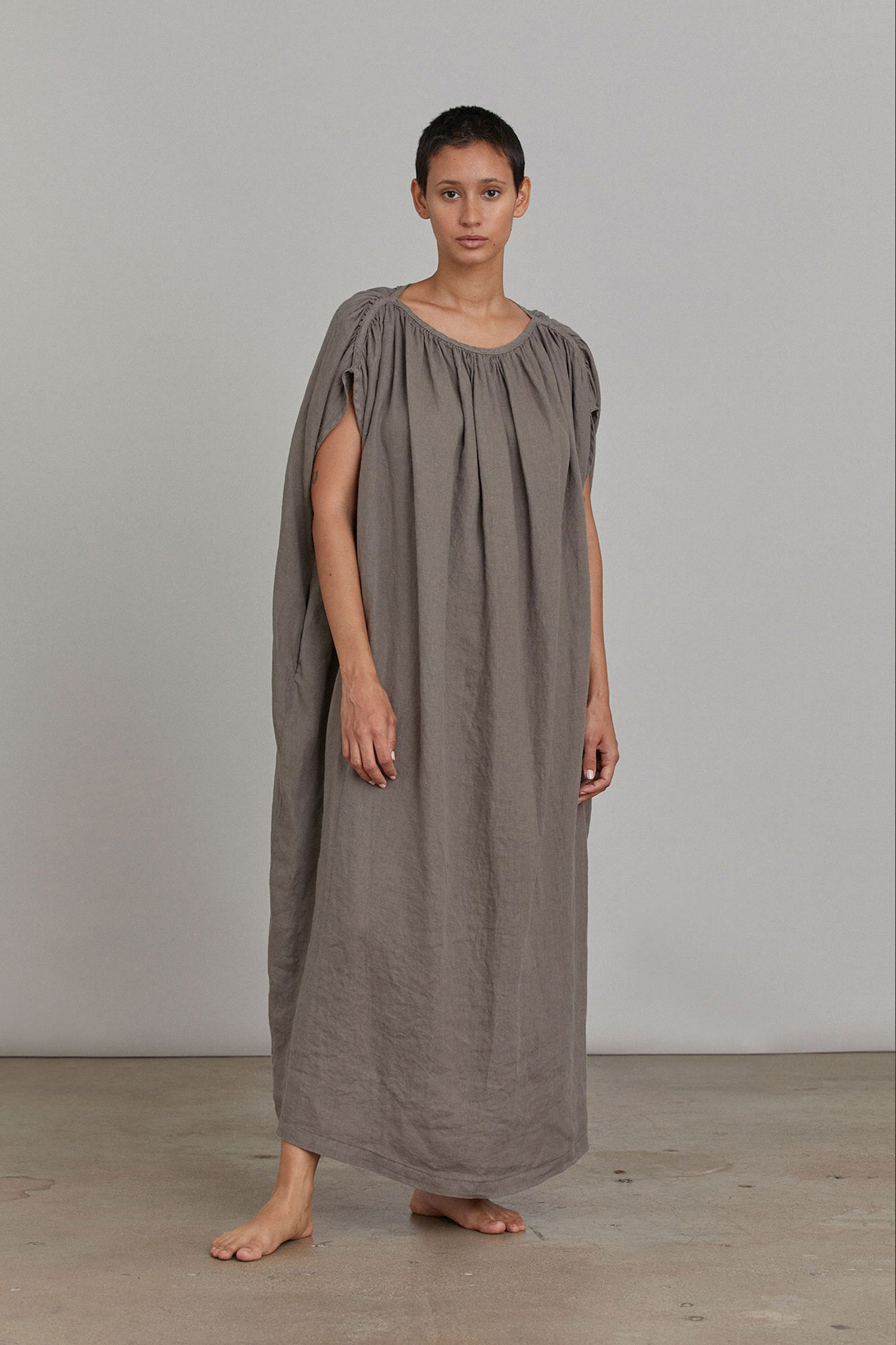 MONT BLANC DRESS / GRAY
