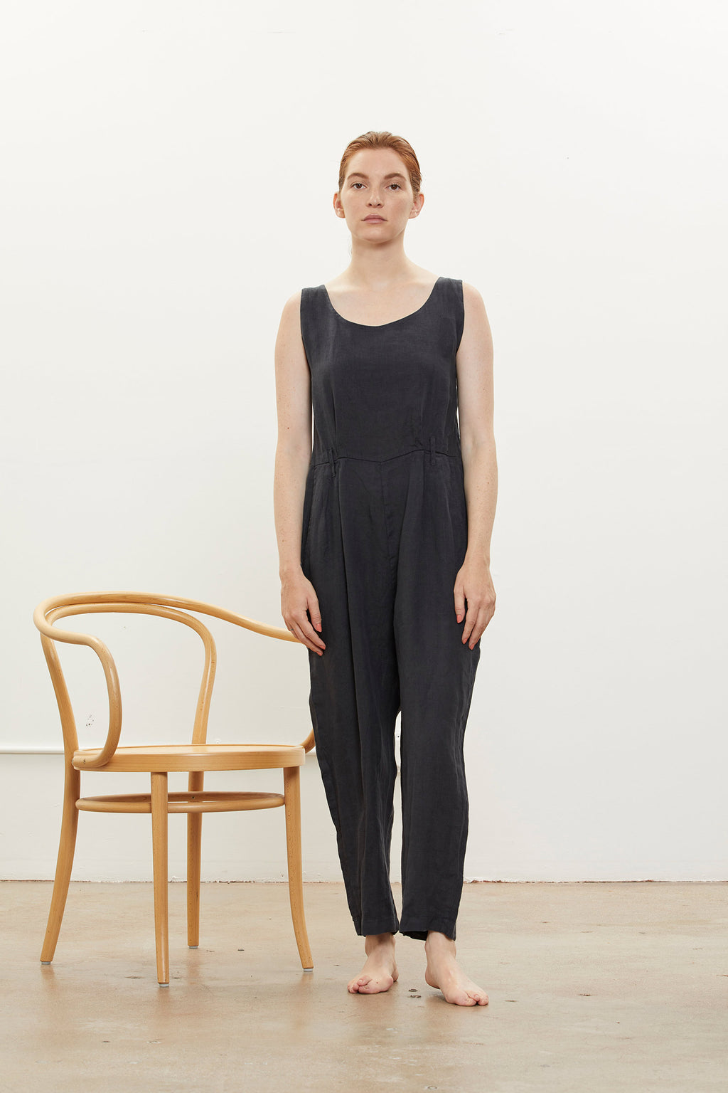 OVERALL / L-NOA11 / FADED BLACK