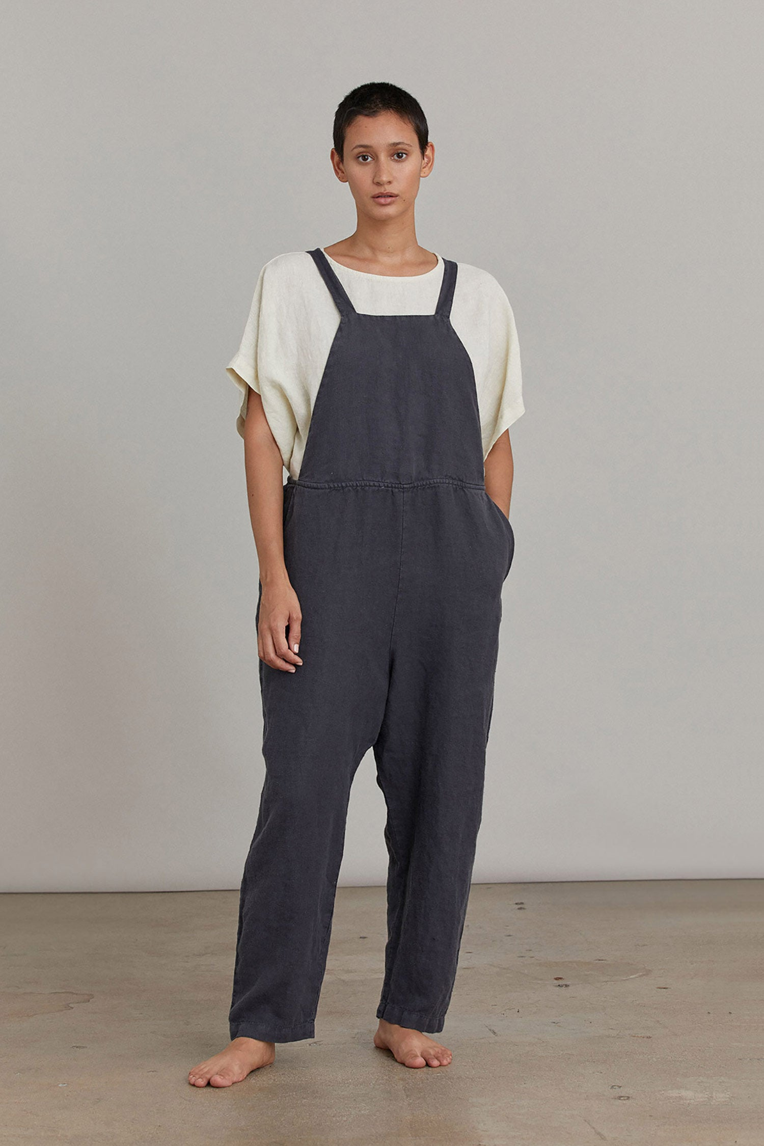 SACK OVERALL / L-SO17 / FADED BLACK