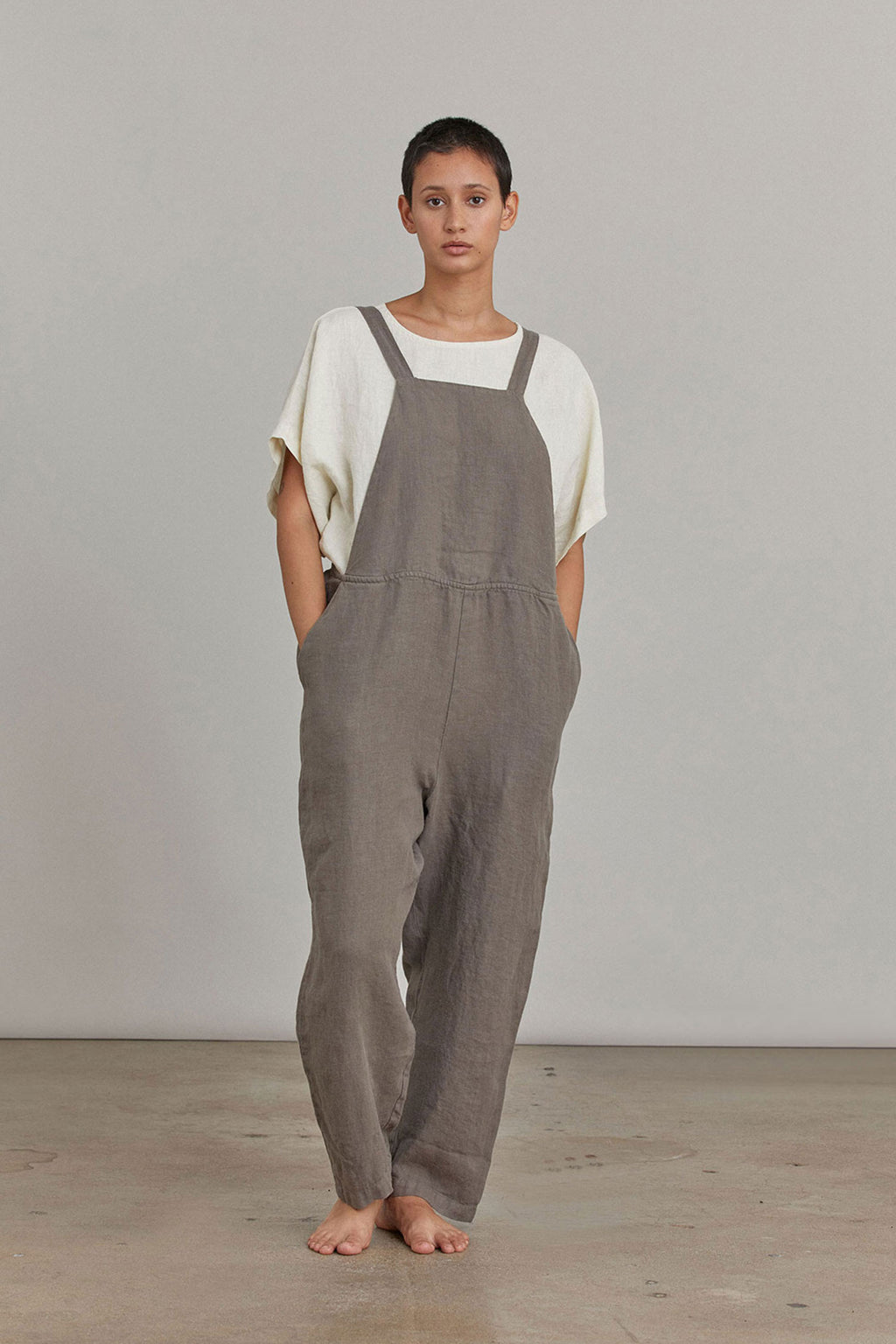 SACK OVERALL / L-SO17 / GRAY