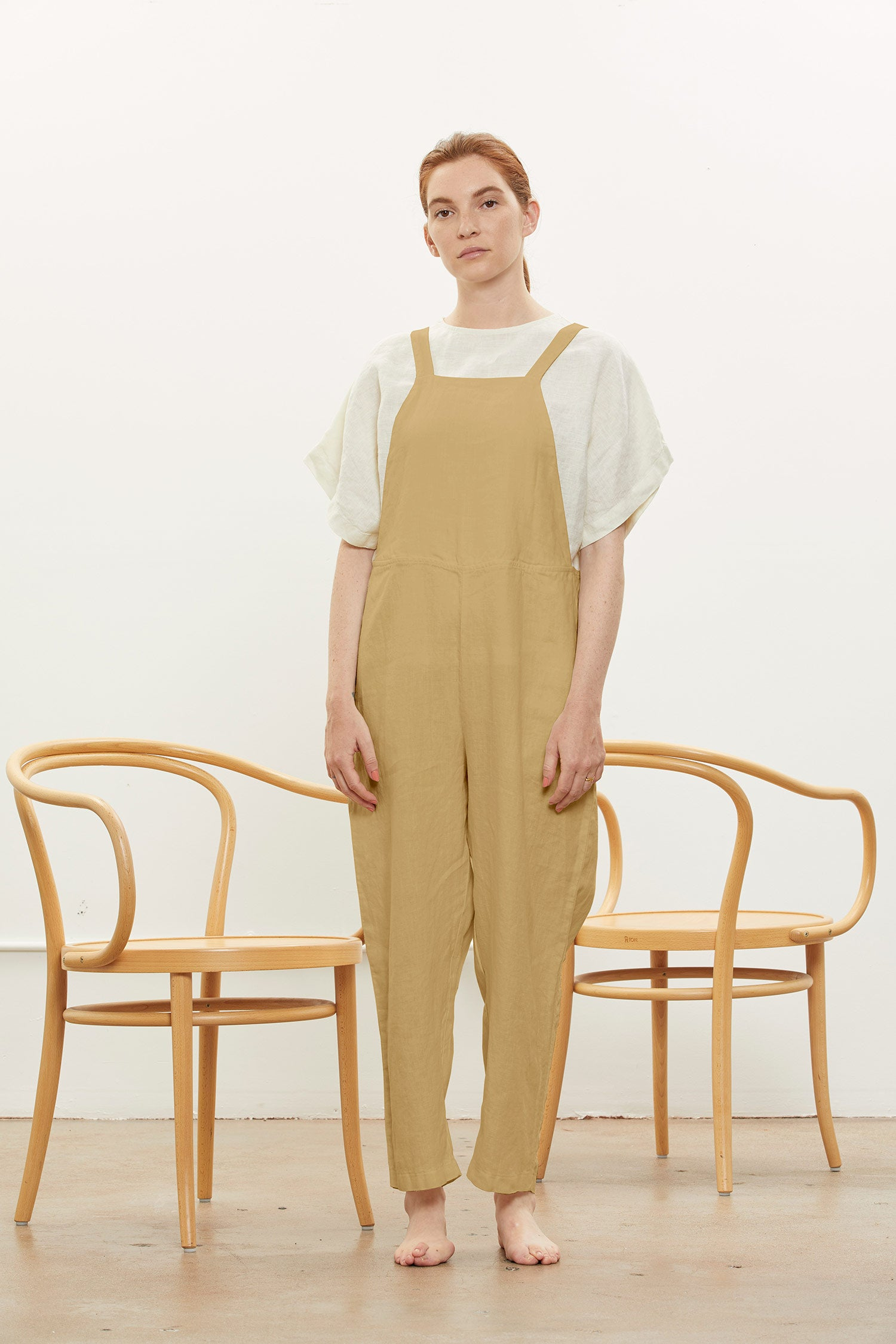 SACK OVERALL / L-SO17 / TAN