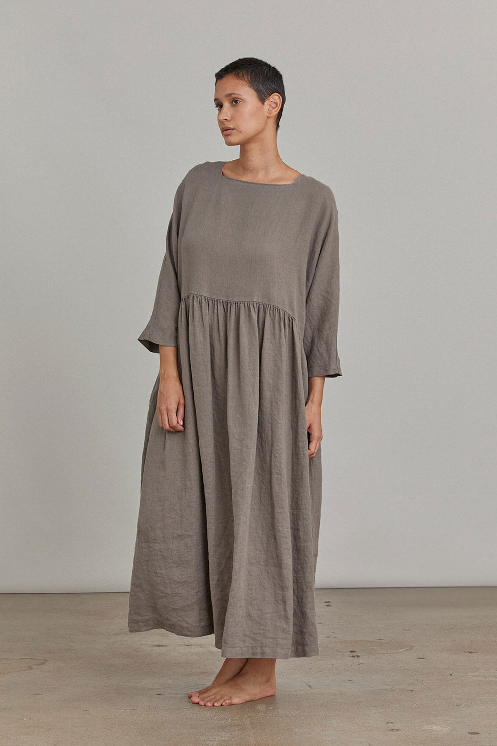 TRADI DRESS / L-TRD01 / GRAY