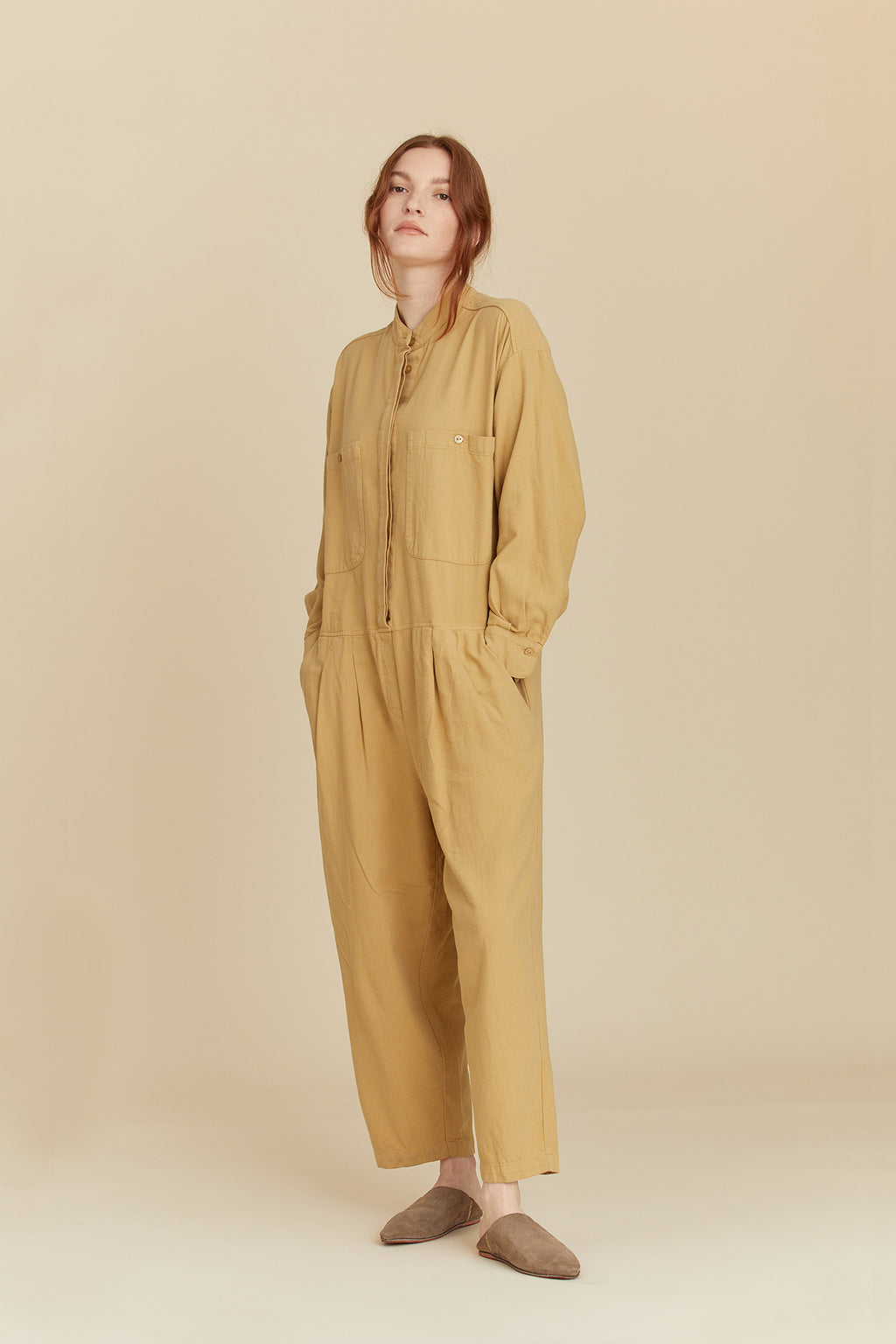 CARPENTER JUMPSUIT / LF-CJ19 / TAN
