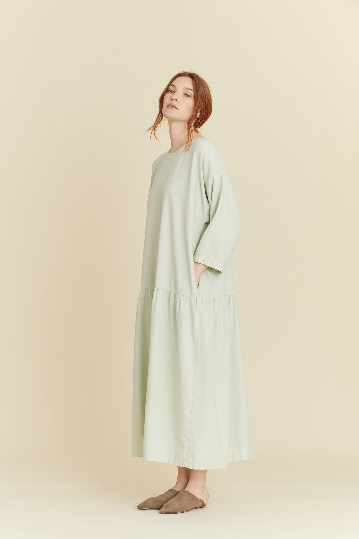 EASY DRESS / LF-ED04 / SAGE
