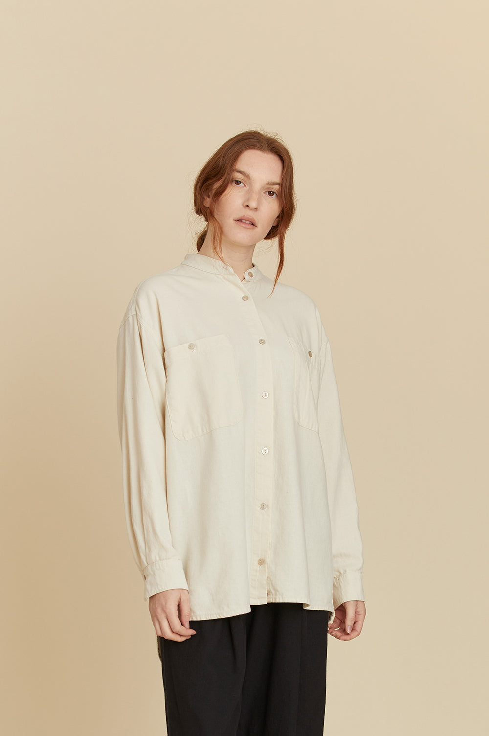 MECA SHIRTS / LF-MS09 / CREAM