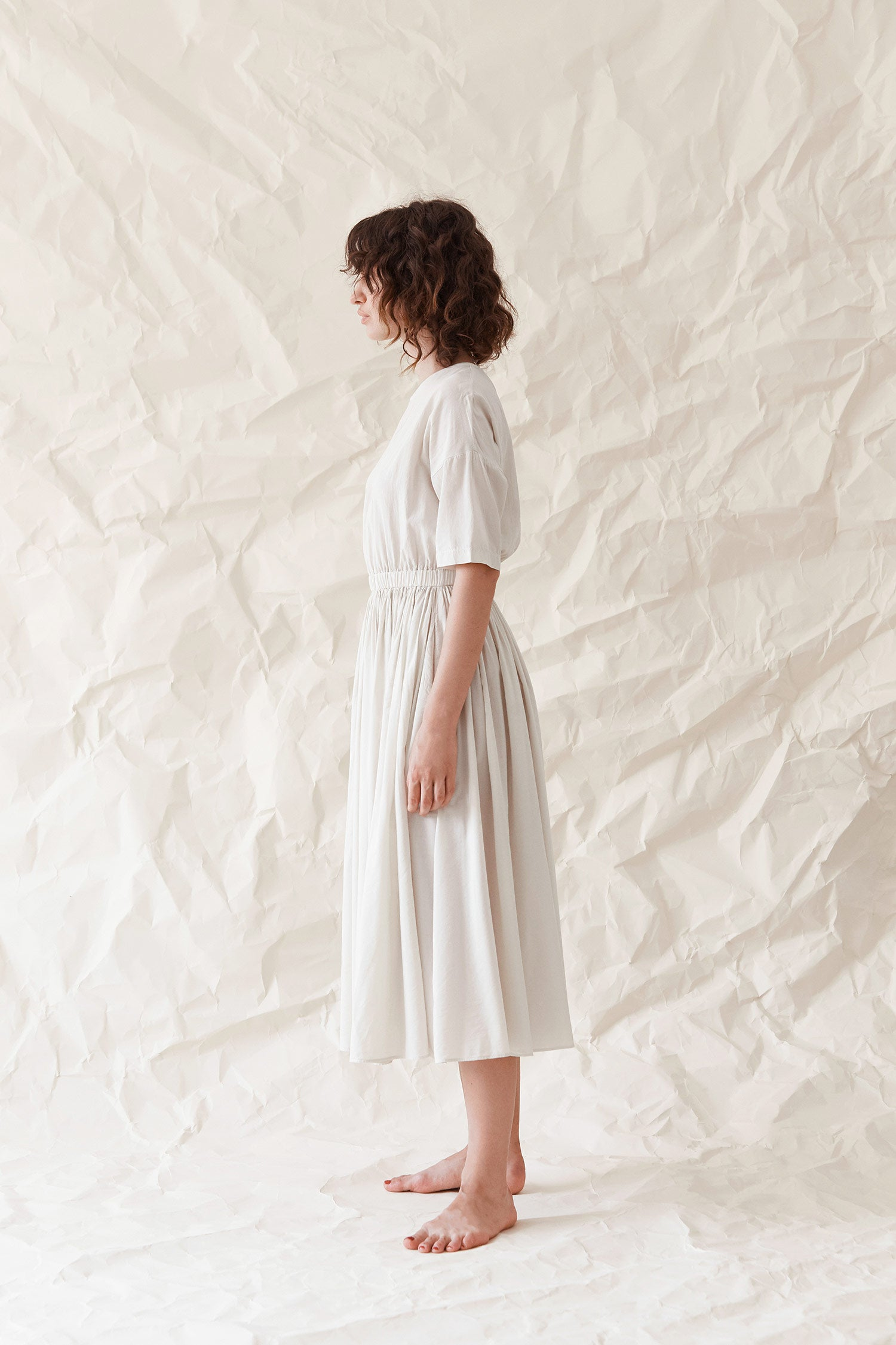 Pleated Dress / RC-PD06