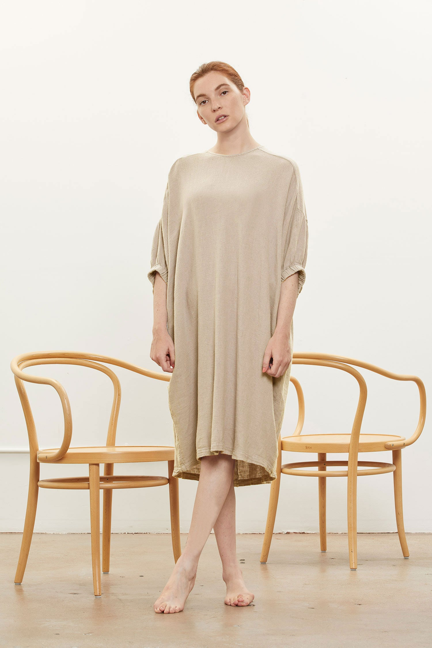 XIAO DRESS / RL-XD24 / NATURAL