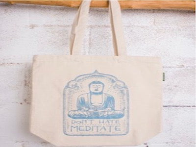 Don't Hate Meditate Eco Tote