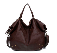 Load image into Gallery viewer, The Laurel Satchel - Chocolate Brown