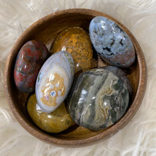 Load image into Gallery viewer, Ocean Jasper Palm Stone