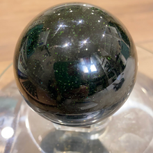 Load image into Gallery viewer, Green Sandstone Sphere