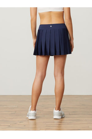 Fila Pleated Navy Skirt