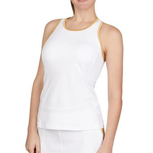 Sofibella White Gold High Neck Tank