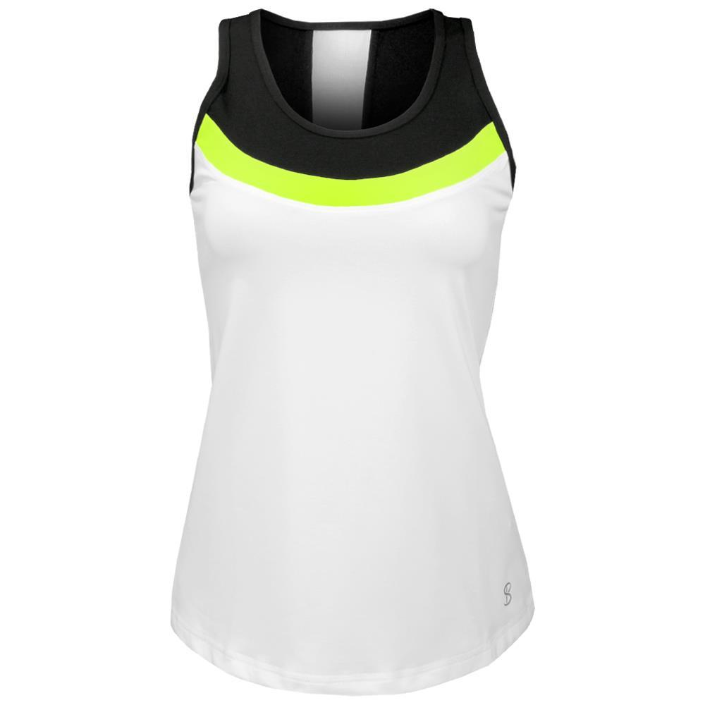 SofiBella Color Block Tank Top