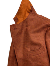 Load image into Gallery viewer, Sand wool and silk jacket