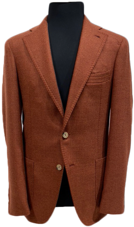 Sand wool and silk jacket