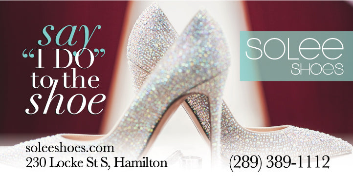 solee shoes bridal collection